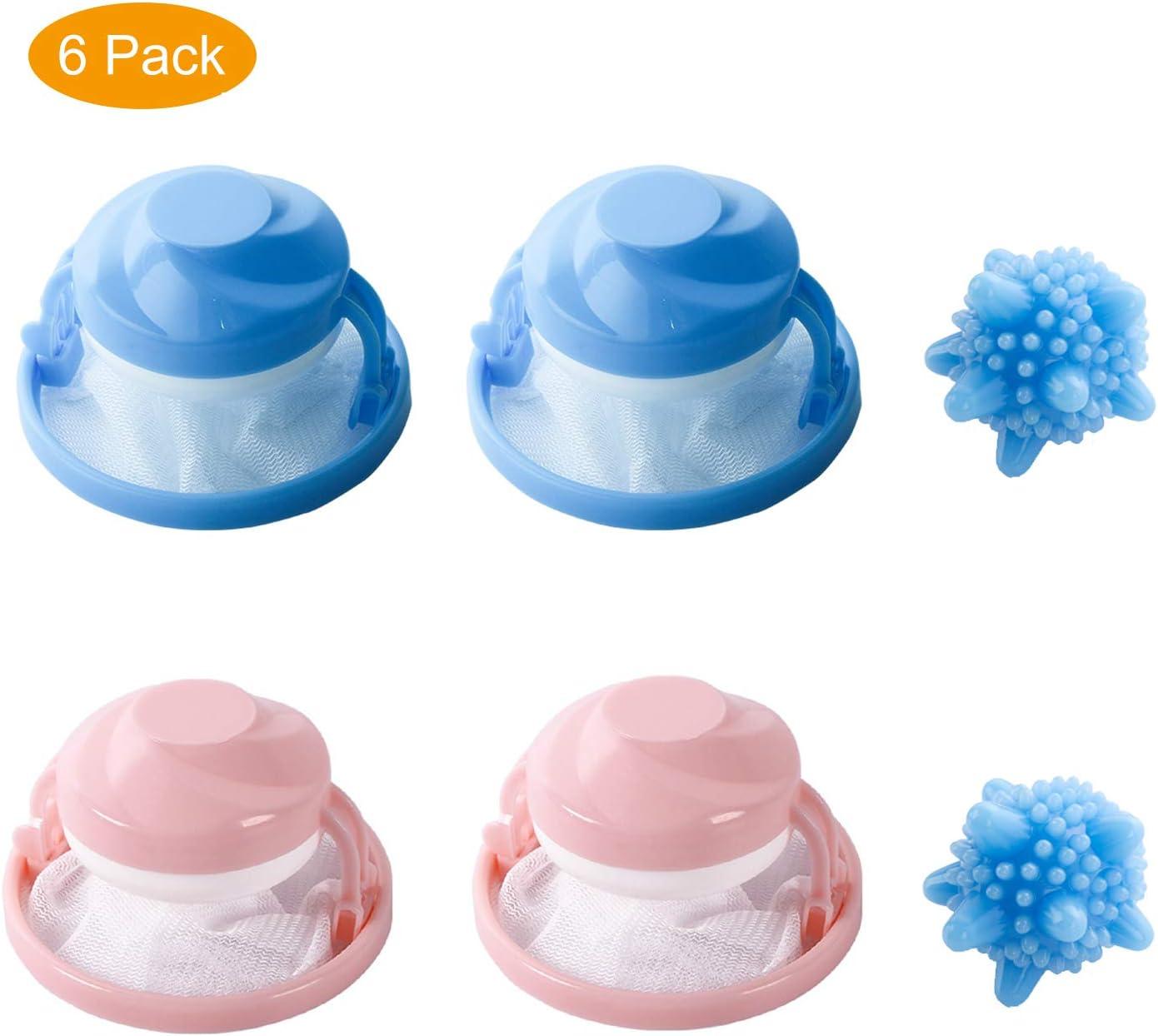 Reutilizable para lavadora, filtro de malla flotante para mascotas ...