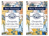 Blue Crab Bay Co. Chesapeake Crab Cake Mix, 2-Ounce Package (Pack of 2)