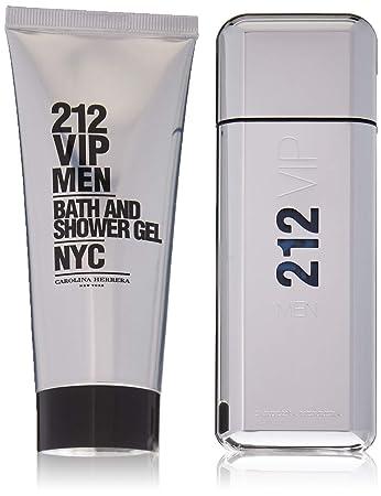 f5641ce062 Amazon.com : 212 VIP Carolina Herrera 2 pc Gift Set For Men : Fragrance Sets  : Beauty