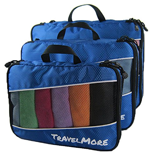 Double Sided Travel Packing Compartments