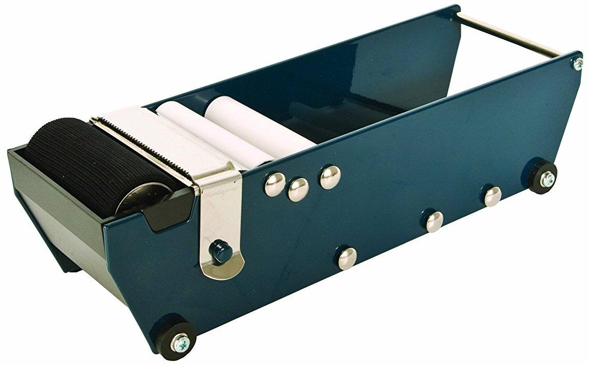 Packer EPS80 Manual Pull & Tear Gummed 3'' Kraft Paper Tape Dispenser, Accepts Gummed Side in and Gummed Side Out, Up to 80mm Wide