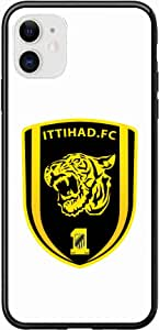 Okteq Case for iPhone 11 Case Shock Absorbing PC TPU Full Body Drop Protection Cover matte printed - Ittihad.FC white By Okteq