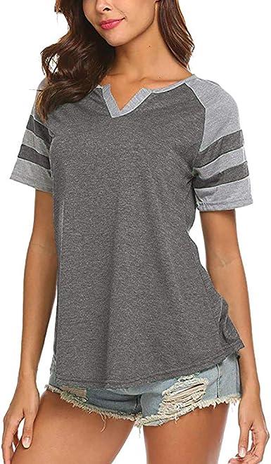 Vintage Long Sleeve Tops for Women Casual Boho Shirts Fashion V Neck Blouse Tee Tailed Sleeve Tunic