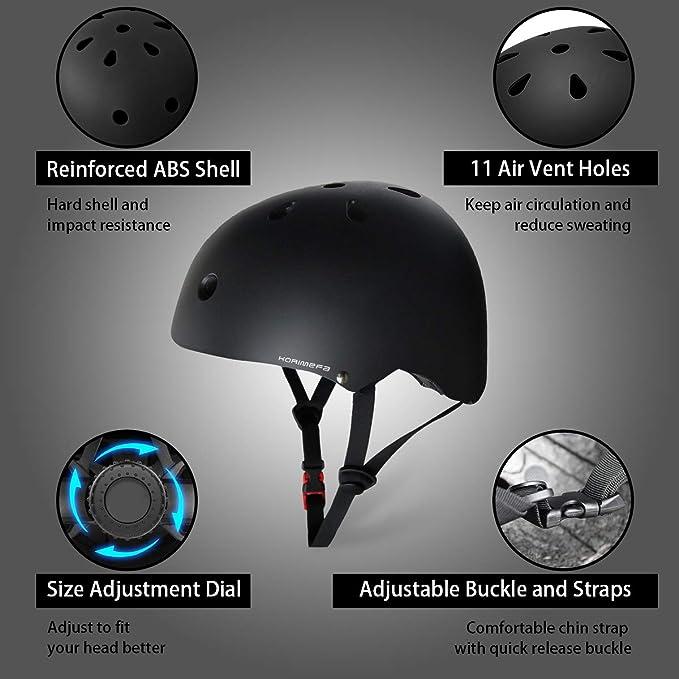 Amazon.com: KORIMEFA - Casco de bicicleta para niños y ...