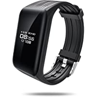 Fitness Trackers, ALANGDUO Sports Activity Tracker with Heart Rate Monitor Sleep Monitor, IP67 Waterproof Smart Bracelet Wristband Bluetooth Pedometer Fitness Watch for Kids Women Men Android & iOS Smartphones
