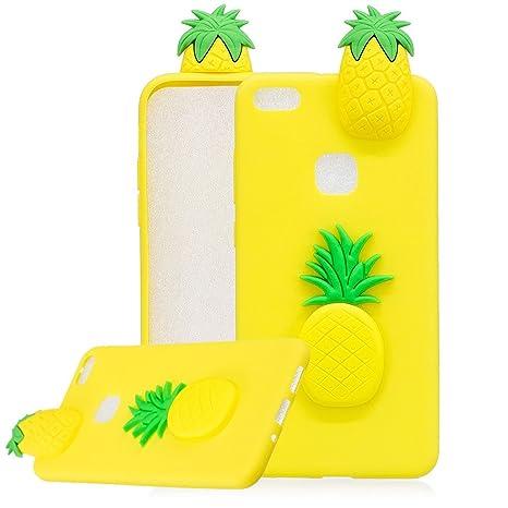 Aearl Huawei P10 Lite Custodia Carino Ananas Disegni 3d Cute