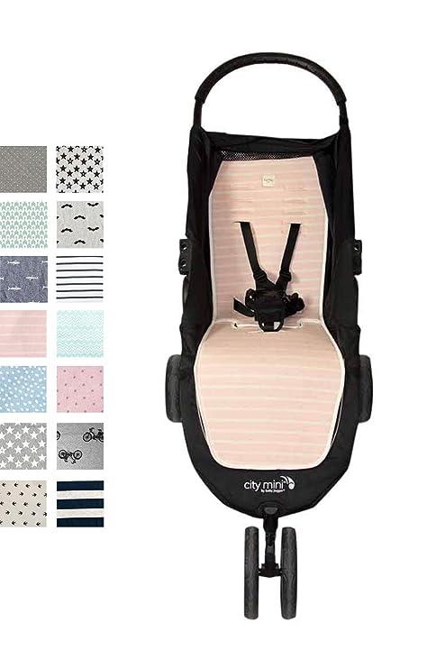 Fundas BCN ® - F61/4003 - Colchoneta para Baby Jogger City Mini®, City Mini 3 ®, City Mini 4 ® - Ice Cream