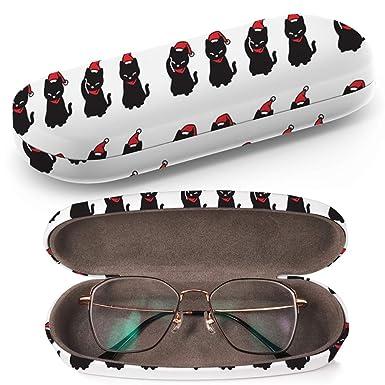 Art-Strap Cat Christmas Santa Claus - Estuche para gafas de ...