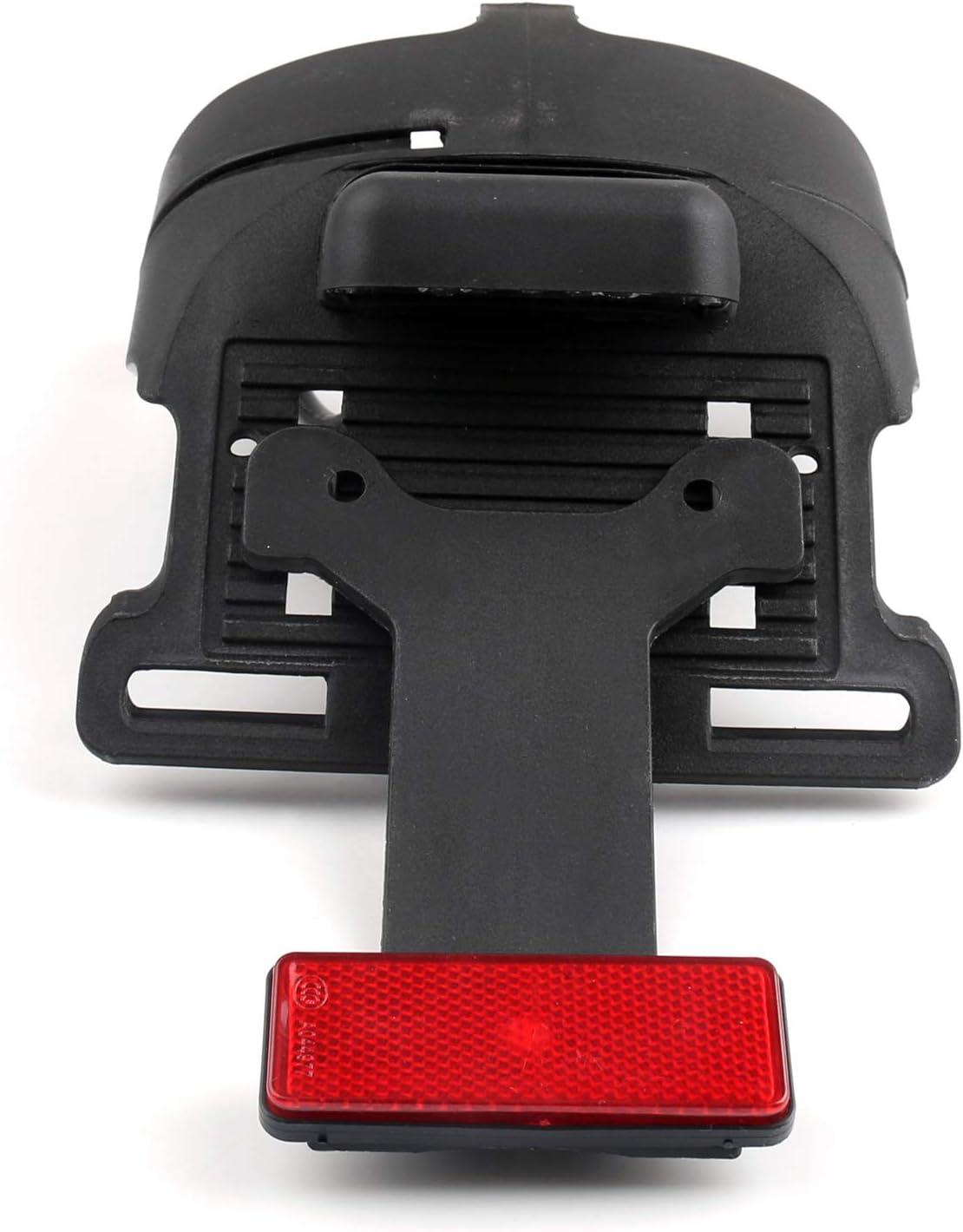 Topteng Rear Fender Mount License Plate BrakeLight for Sports-ter XL 883 1200 48 04-2014