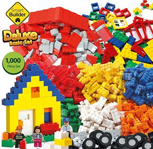 1000 Pieces Deluxe Basic Building Set - Lego Compatible - Buy ...
