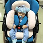 Infant Car Seat Insert, vocheer Cotton Baby Stroller Liner Head and