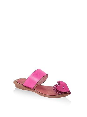 hh-Made in Italy Damen Sandale, Pink, 38 EU