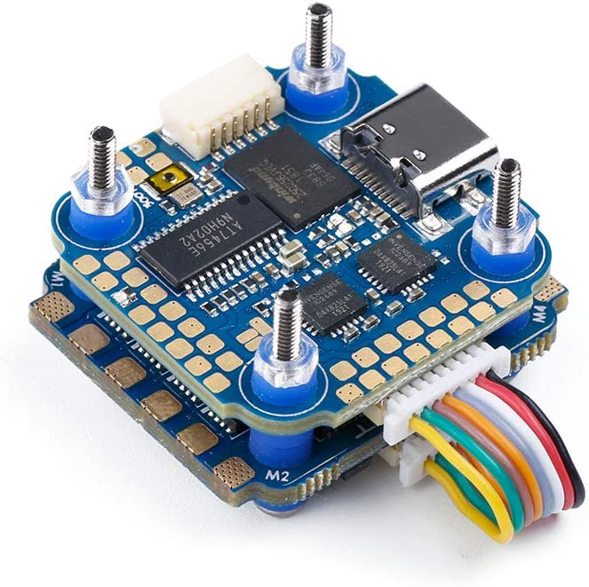 iFlight SucceX Mini 40A 2-6s ESC 32bit BLHeli/_32 4-in-1 ESC with Telemetry Pad Built in Current Sensor DSHOT1200 for FPV Racing Drone Quadcopter