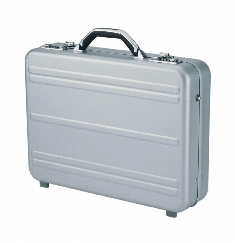 sacoches dordinateurs portables Alumaxx Mercato Notebook briefcase Argent Notebook briefcase, Argent, Aluminium, 445 x 100 x 325 mm, 460 x 110 x 350 mm
