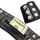 Leather Wristband Wallet