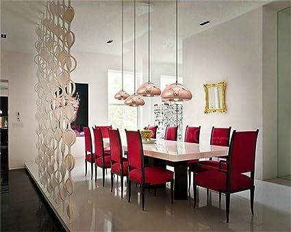 Moderne minimalistischen stil glas schatten kronleuchter