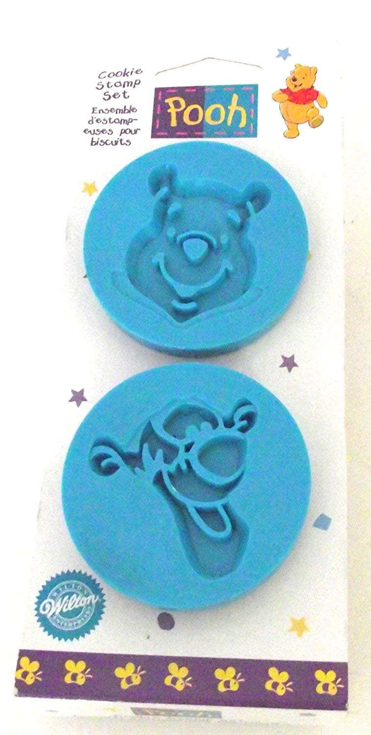 OKSLO Winnie the pooh and tigger cookie stamp set, by