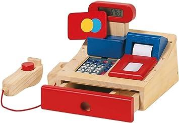Goki 51807 - Caja registradora de Madera con escáner [Importado ...