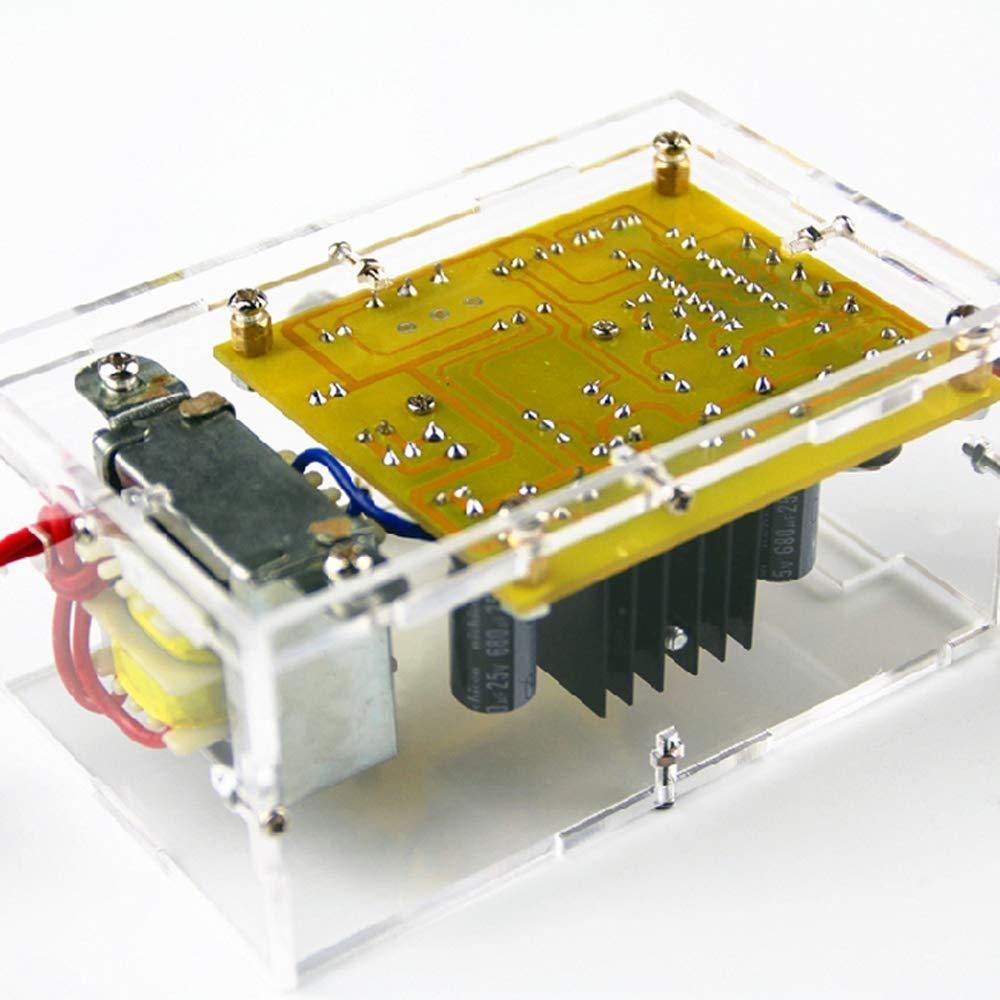 Adjustable Dc Regulated Power Supply Diy Kit Top Deals Lowest Lm317 Walmeck 120v 12v 2w Module Pcb