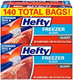 Hefty Slider Freezer Bags