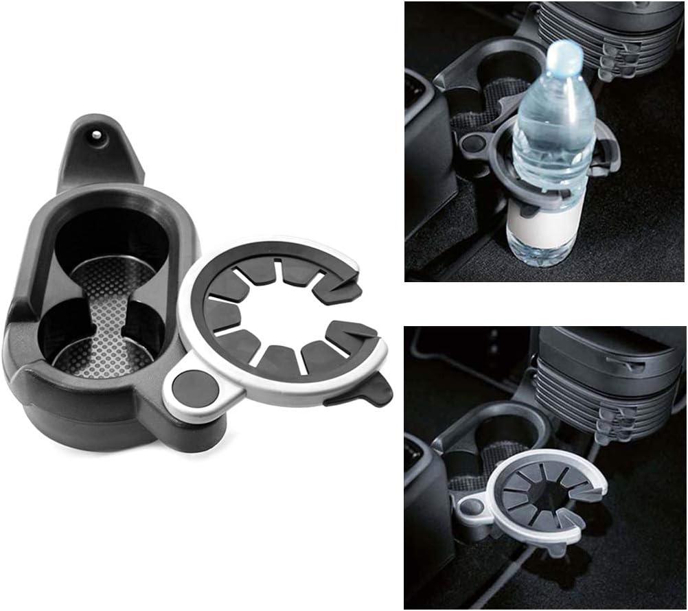 para Smart Fortwo 451 A4518100370 portavasos de pl/ástico consola central C//N Soporte de bebidas para coche