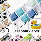 Grandora w5288 Mosaico adesivo per piastrle effetto 3d-effekt grande scelta Adesivo da muro cucina bagno decorazione piastrelle Pellicola AUTOADESIVO - COME SELEZIONATO, Design 1