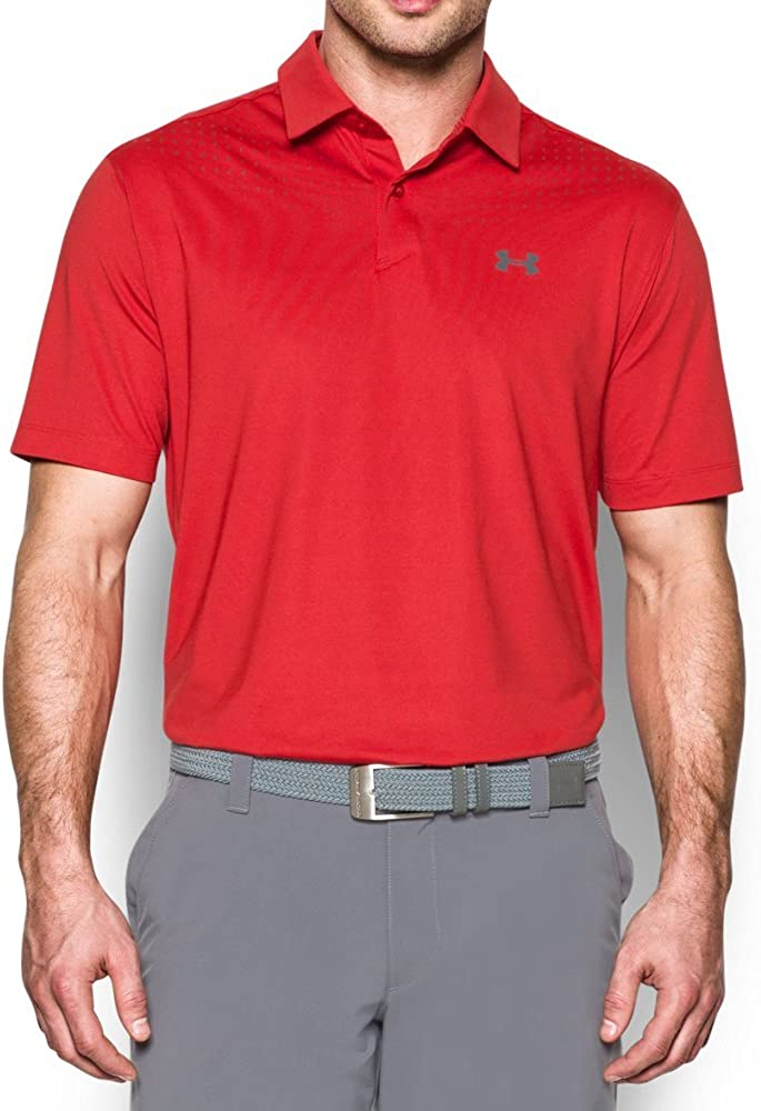 Under Armour Mens CoolSwitch Ice Pick Polo