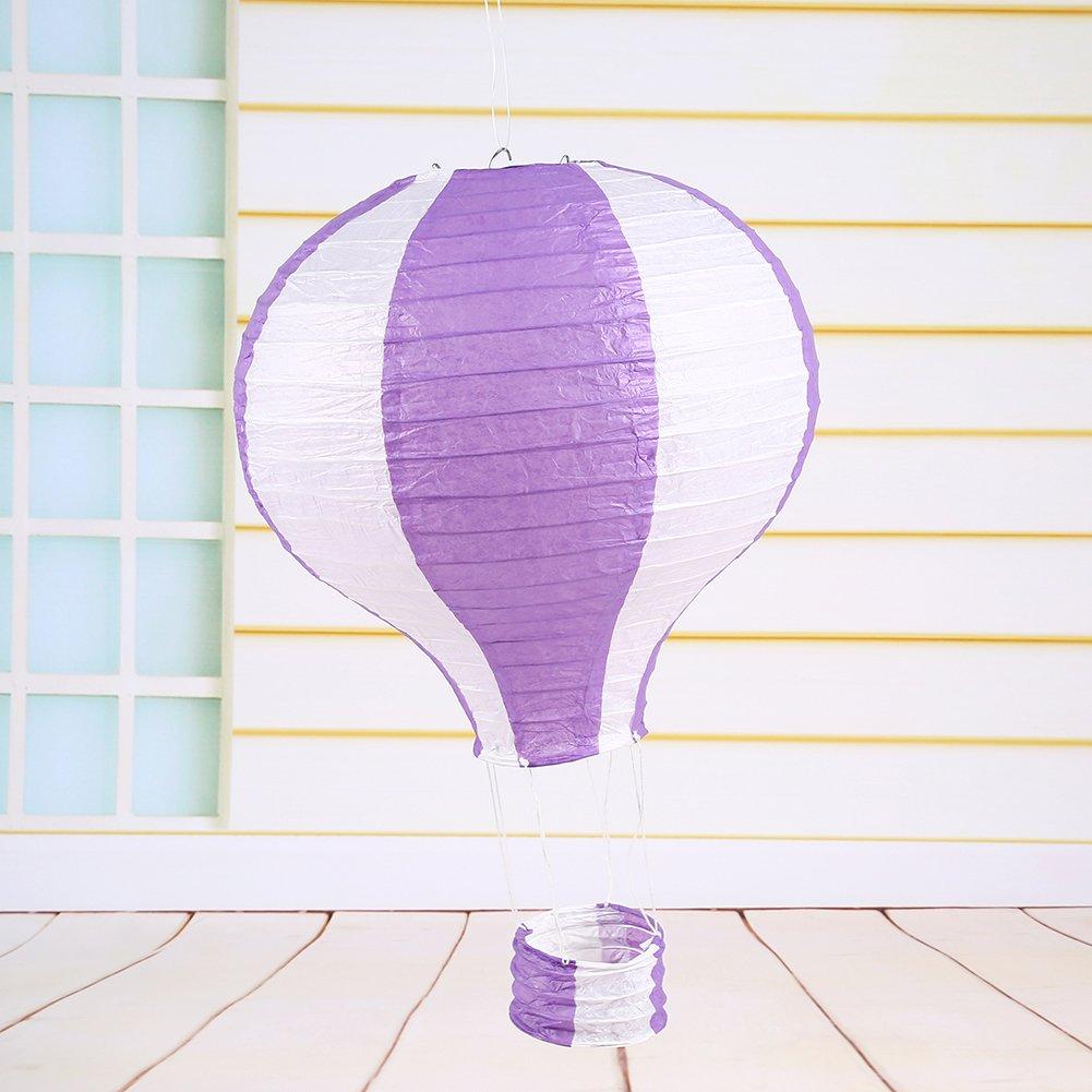 Amazon 8pcs 12 Inch 30cm Hot Air Balloon Paper Lantern Wedding