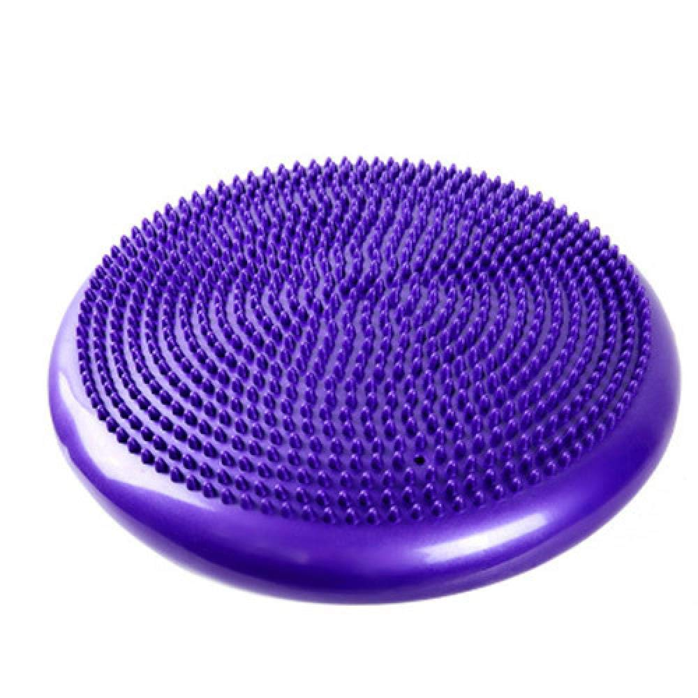 violet  TSANG Tapis De Yoga Tapis De Yoga en PVC Double Face De Massage Point De RouleHommest Multi-Usages Fitness Yoga     Pad Massage pour l'exercice