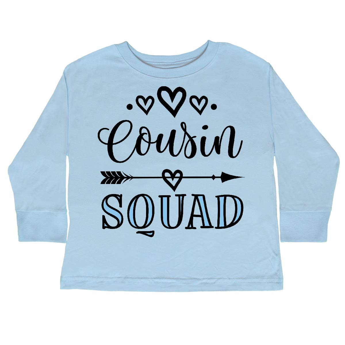 inktastic Cousin Squad Girls Toddler Long Sleeve T-Shirt