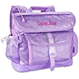 Personalized Bixbee ''Sparkalicious'' Glitter Backpack - Purple
