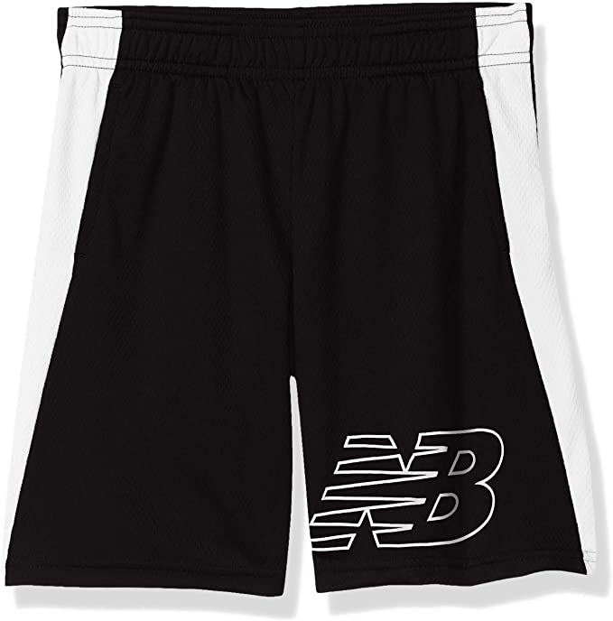 New Balance Youth Boys Basic Mesh Athletic Thunder Shorts Size M 10//12