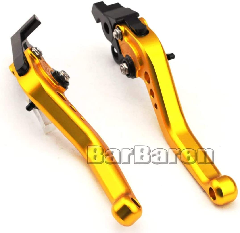 Moto Kit court Levier dembrayage et levier de frein pour CBR600F//F2//F3//F4//F4I 1989-2007 CBR900RR 1992-1999 CB900F Hornet 2002-2007 CB600F Hornet 1998-2006 CBF600N//S 2004-2006