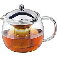 Avanti 15747 Ceylon Glass Teapot, 1.25 Litre Capacity, Clear