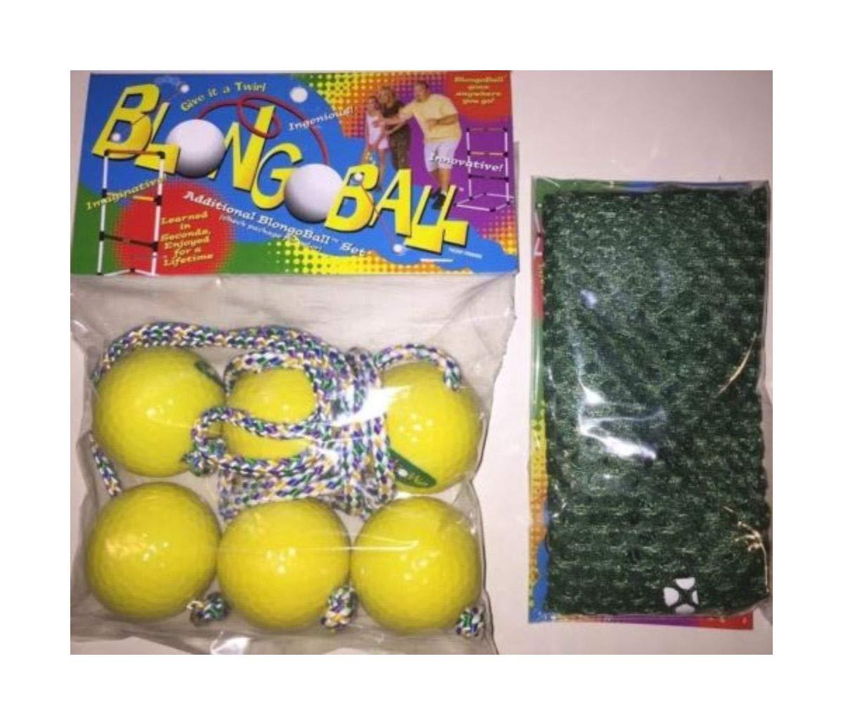 3 Yellow Ladder Balls Bolo Toss Hillbilly Golf Free CASE Skallywags Depot by Unknown