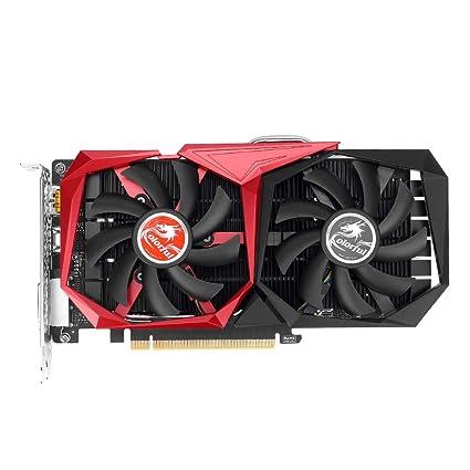 InnerSetting Tarjeta gráfica Colorida, NVIDIA GTX1050 GPU 3G ...