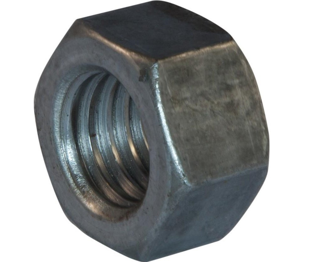 Grade 8 7//16-20 Thread Size Fastcom Supply 7//16-20 Thread Size Pack of 100 Pack of 100 Small Parts FSC716FHN8P High-Strength Steel Hex Nut