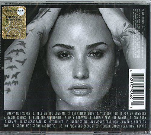f7d3b3a3995 Demi Lovato - Tell Me You Love Me  Deluxe Edition  - Amazon.com Music