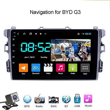 Android 8.1 Octa Core GPS Navegador Coche para BYD G3 - RDS Radio del Coche, Conexión a Internet WiFi/BT, Soporte DVR OBD2/Llamadas Manos Libres,4g+WiFi: 4+64gb: Amazon.es: Deportes y aire libre