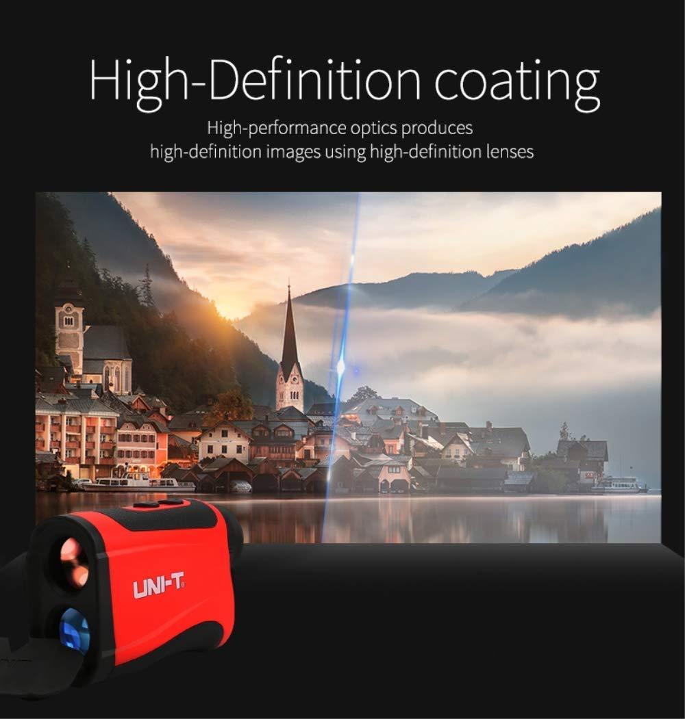 UNI-T Laser Distance Meter 120m Portable Handle Digital Measure Tool Laser Measure Range Finder with 2 Bubble Level Large Backlit LCD 5 Line Display UT396B 120M