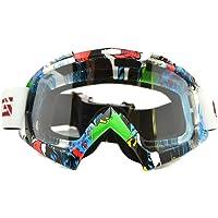 Máscara de esquí con montura de colores