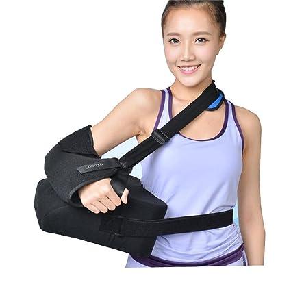 Hombro ARM sling-humeral fractura rehabilitación órtesis soporte ajustable  con correa de cintura bbc65f7b3140