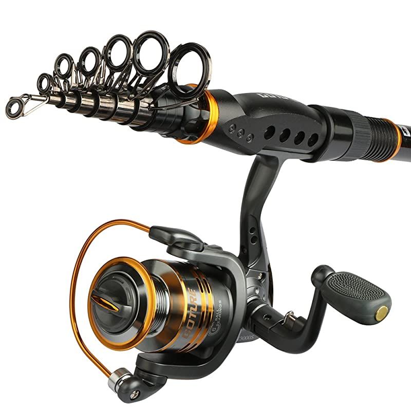 Goture Sword Spinning Fishing Rod And GT-S Reel Combo
