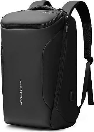 Markryden Water-proof Business laptop Backpack for School Travel Work Fits 17.3 Laptop