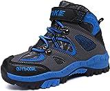 Elaphurus Kids Climbing Boot Hiking Shoes Waterproof Platform Anti-Slip Snow Boots