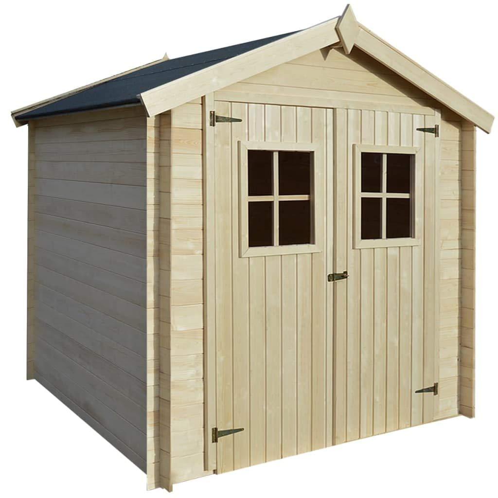 Tidyard Garden Log Storage Shed Outdoor Large Log Store Galvanised Steel 330x84x152 cm Grey
