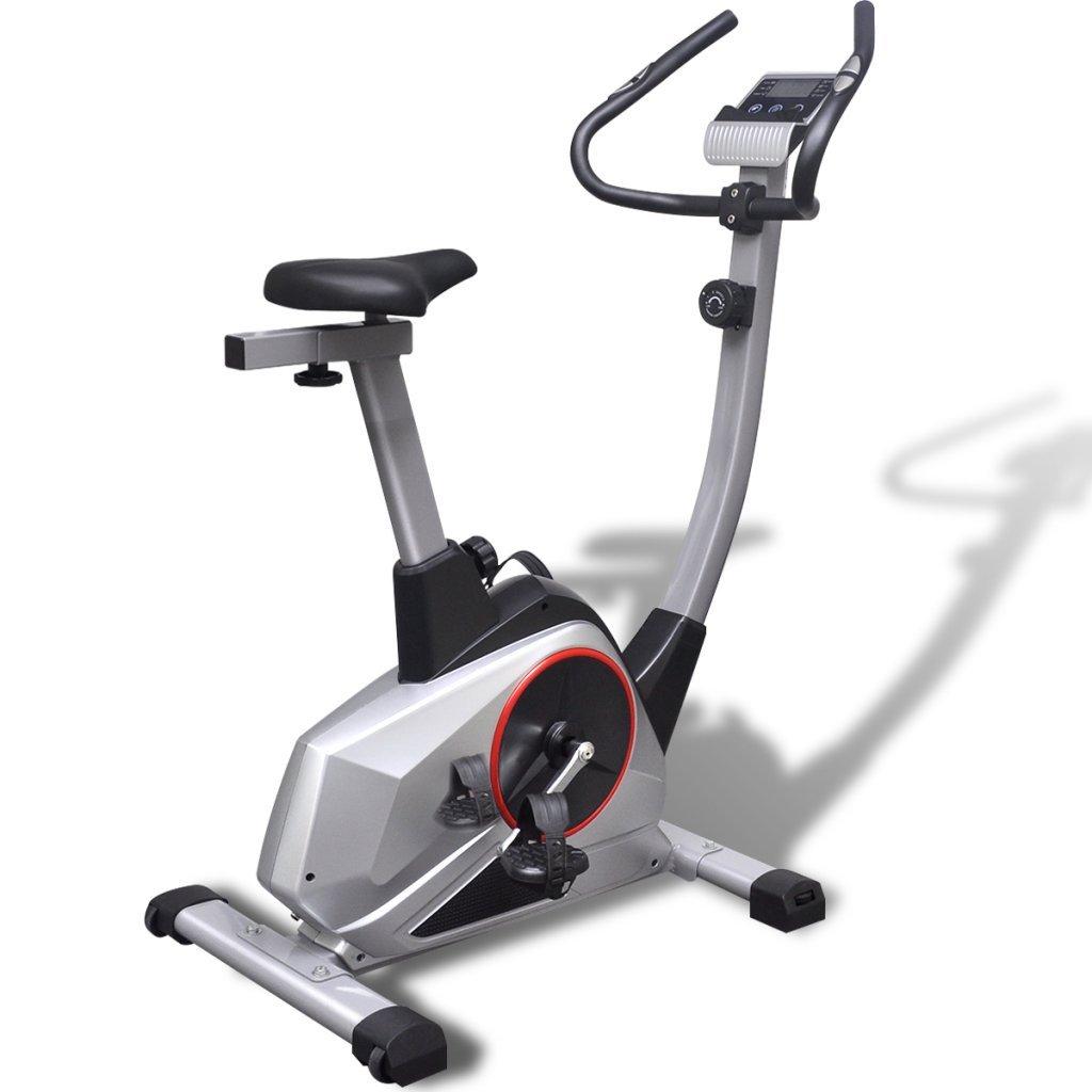 festnight bicicletas elíptica bicicleta estática XL movimiento magnético de impulsion 95 x 56 x 130 cm: Amazon.es: Hogar