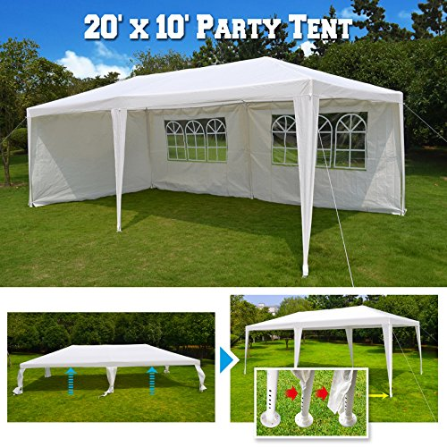 BenefitUSA 10'X20' Wedding Party Tent Gazebo Pavilion Canopy