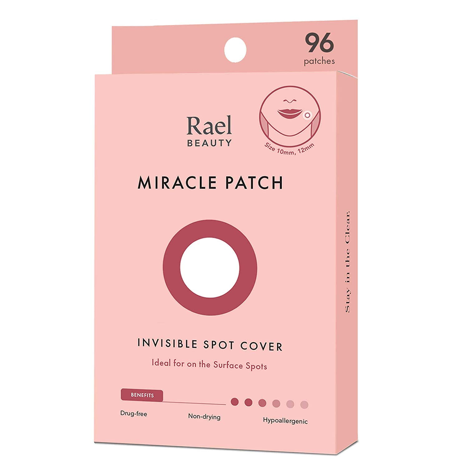 Rael 10mm & 12mm, 96 Count  Acne Pimple Healing Patch $11.55