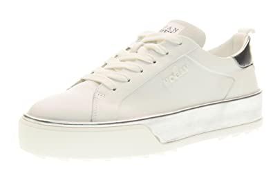 02a859aa4b488 Image Unavailable. Image not available for. Colour  Hogan Rebel Women Low  Sneakers with HXW3200X630GGB0351 R320 Platform Size 40 ...